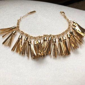 Baublebar Gold Tassels bracelet